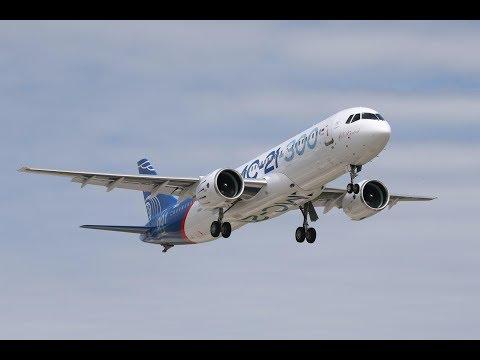 Состоялся первый полет лайнера МС-21-300 - The first flight of the liner МС-21-300