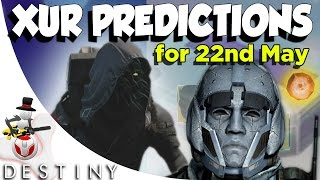 What Will Xur Bring? - ETERNAL WARRIOR! - House Of Wolves Edition - Xur Predictions