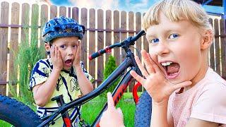 Что случилось с велосипедом? Почему Дарина ПРЯЧЕТСЯ от СЕРЕЖИ?