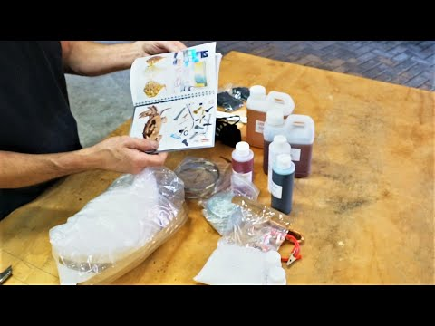 Zinc  Electroplating Plating Kit.