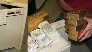 Guy finds over $600,000 in Gold in Abandoned Safe