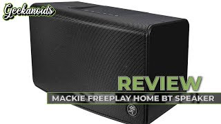 Mackie FreePlay Home Portable Bluetooth Speaker Review
