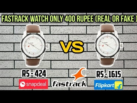 FASTRACK WATCH OFFER || SNAPDEAL FASTRACK NG3099SL01