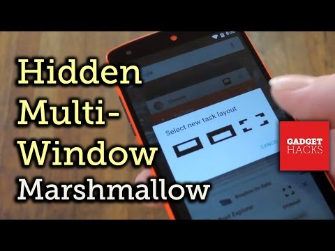 Enable the Hidden, Experimental Multi-Window Feature in Android 6.0