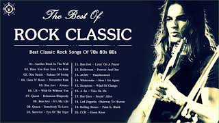 Rock Classic | Best Classic Rock Songs Of 70s 80s 90s