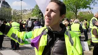 Gilets jaunes Acte 22 : peu de monde, peu de tensions (13 avril 2019, Paris)