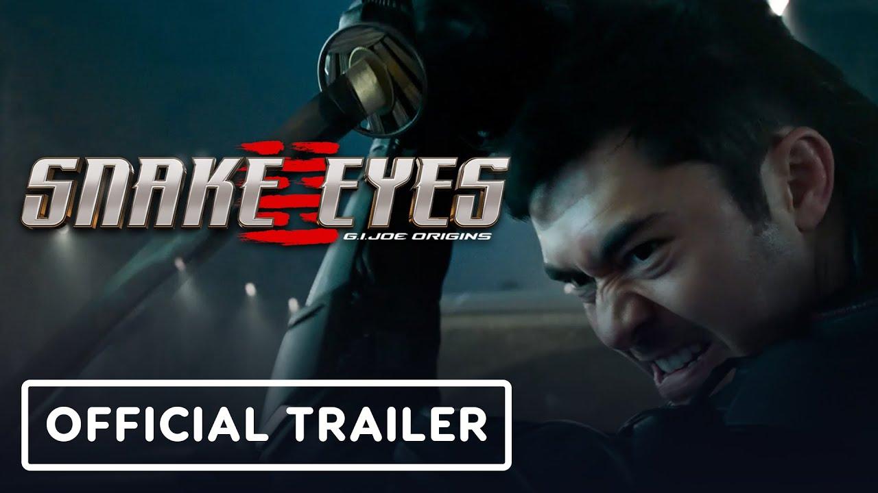 Download Snake Eyes: G.I. Joe Origins - Official Trailer (2021) Henry Golding, Samara Weaving