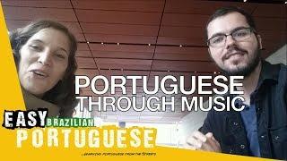 Learning Portuguese through music | Easy Brazilian Portuguese 36
