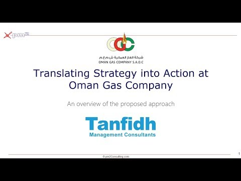 Translating Strategy into Action at Oman Gas