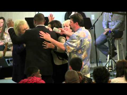Glenda Jackson Ministers and the Glory of God hits the service in Houston area on 3-31-2013 part 3