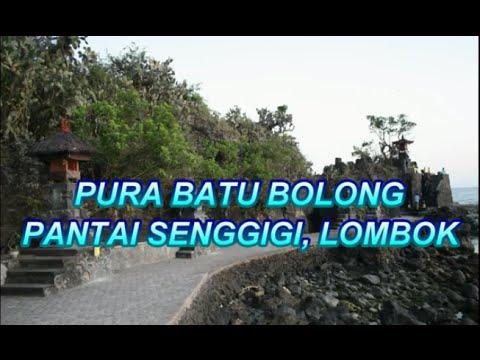 Wisata Indonesia : Pura Batu Bolong Lombok Indonesia, Mopon ID