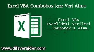 Excel VBA Dersleri Combobox Kullanımı ve Veri Ekleme