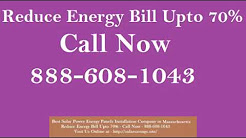 Best Solar Power (Energy Panels) Installation Company in Norwood Massachusetts MA