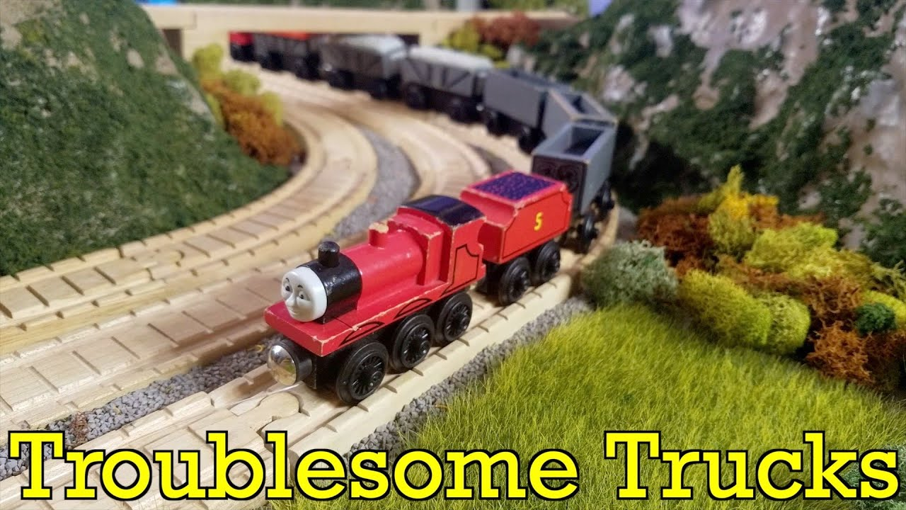 Repeat Troublesome Trucks Thomas Friends Full Wooden Railway