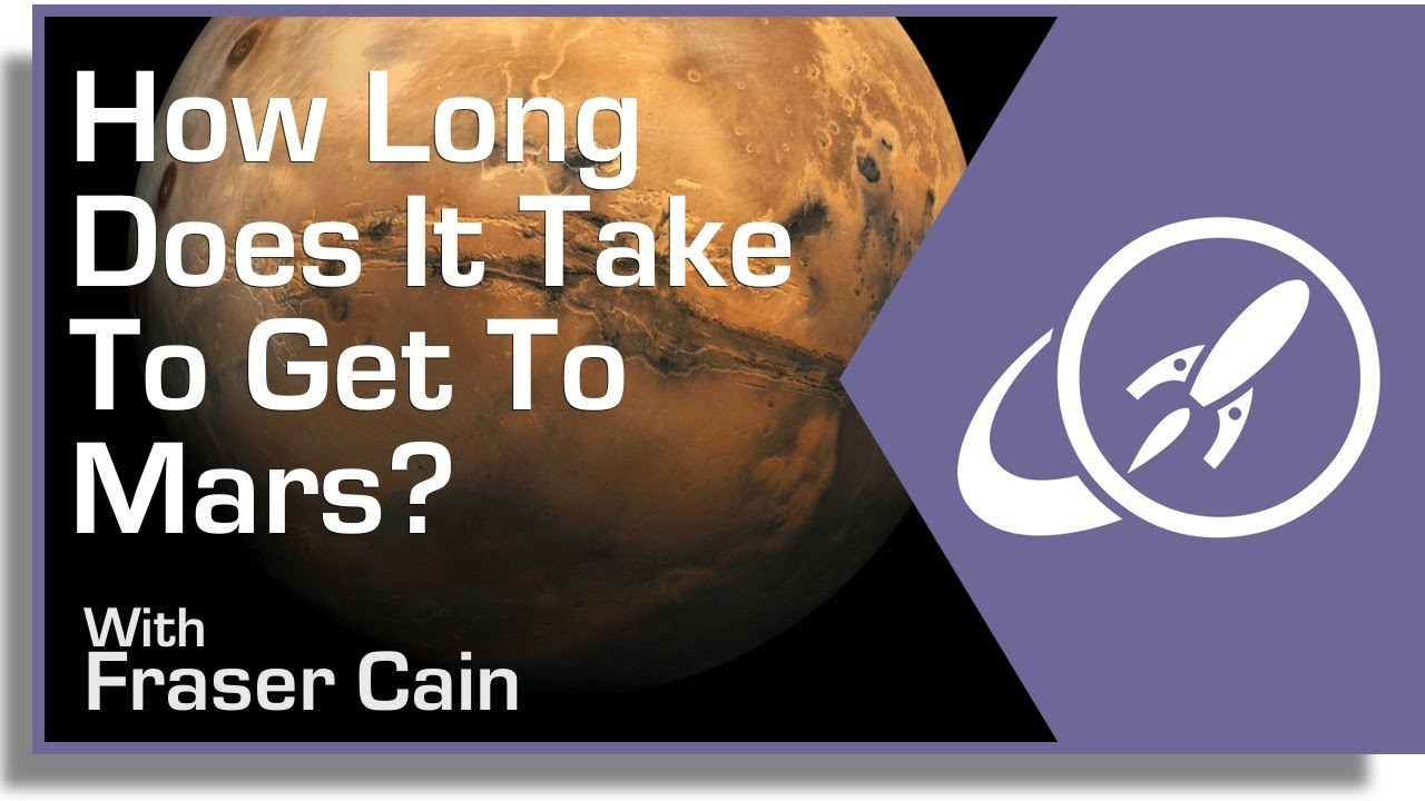 how long does it take to get to mars youtube