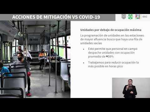 Avances en el restablecimiento del servicio del Metro, y servicios de apoyo, 20/01/21