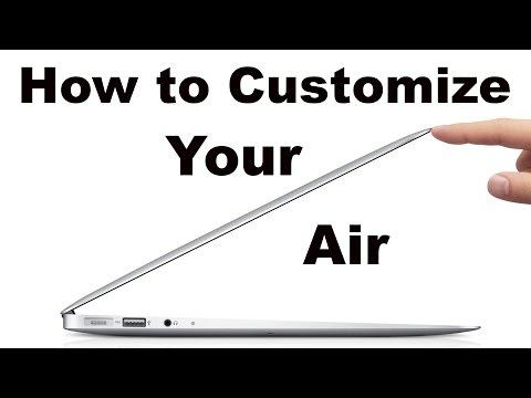 How to Customize MacBook Air