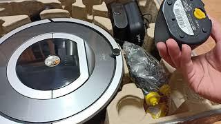 Irobot roomba 780 máy hút bụi cảm ứng tự động về sạc. Lên lịch làm việc theo ngày. Giá 5tr5 BH 3th