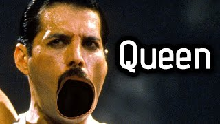 Freddie likes to sing about feet and Roger bangs the crap out of hi...