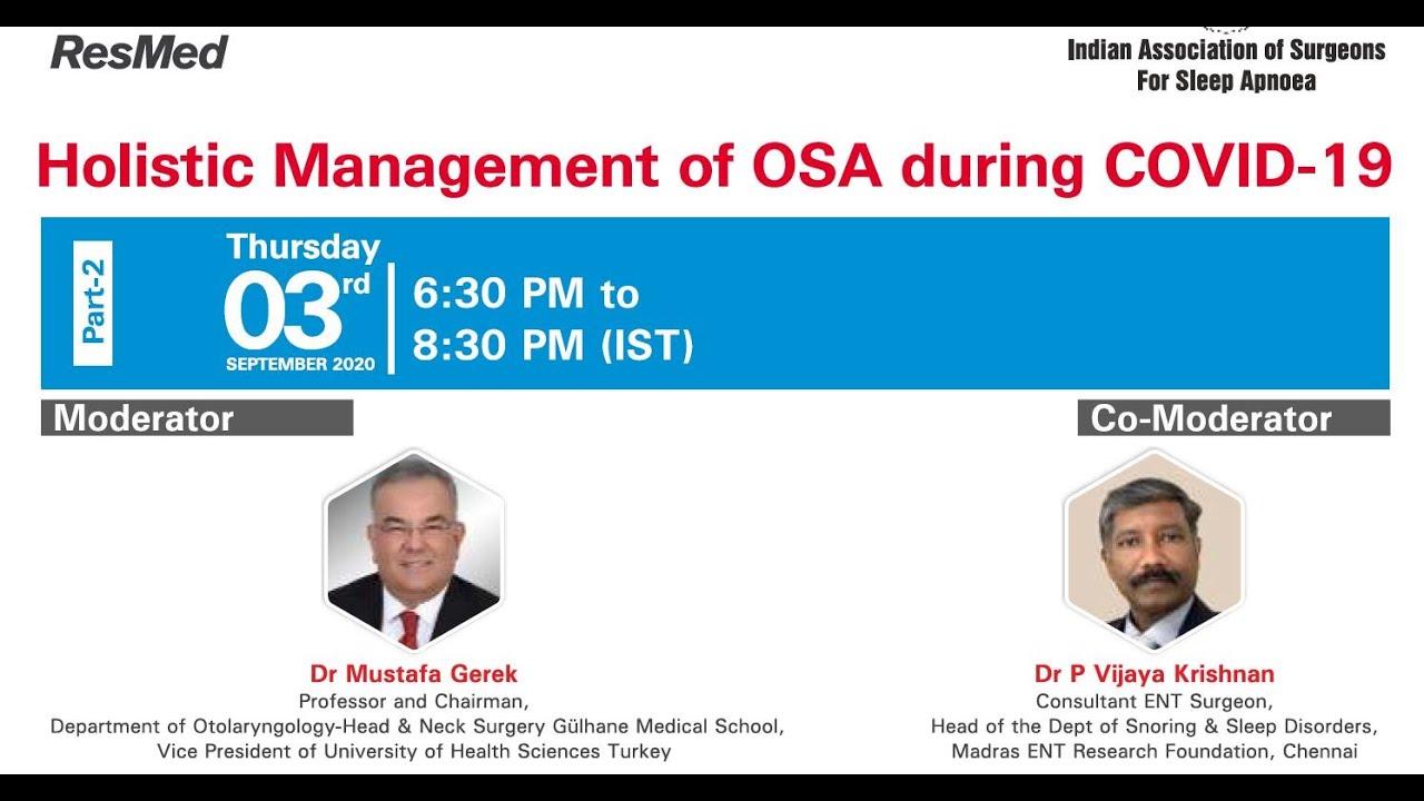 Holistic Management of OSAS 03 09 2020