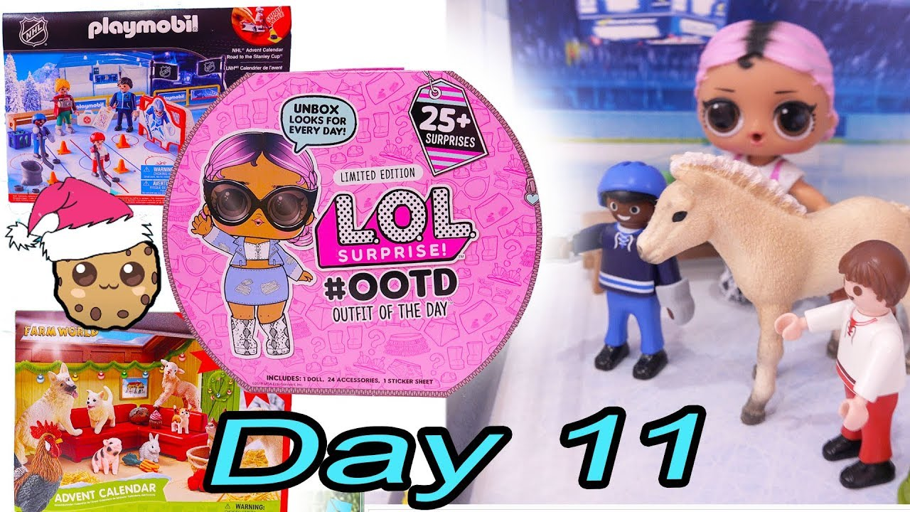 Calendrier Lol.Day 11 Lol Surprise Playmobil Schleich Animals
