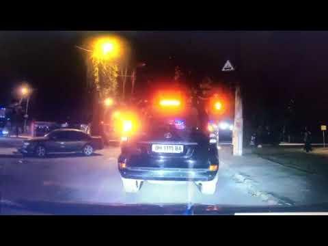 Момент аварии на 6-й Фонтана в Одессе