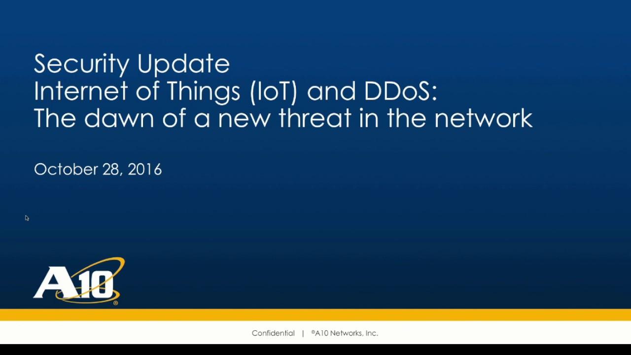 Entienda los Ataques DDoS masivos generados desde redes botnets de ...