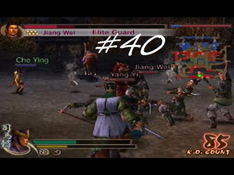 Let's Play Dynasty Warriors 5 #40 - Battle of Wu Zhang Plains + Shadow Orb [Wei Forces]