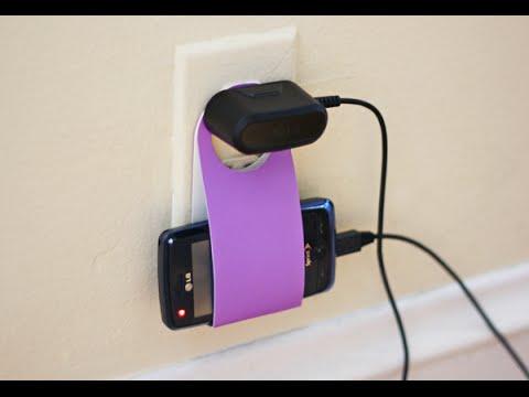Homemade Mobile Phone Charging Holder Diy