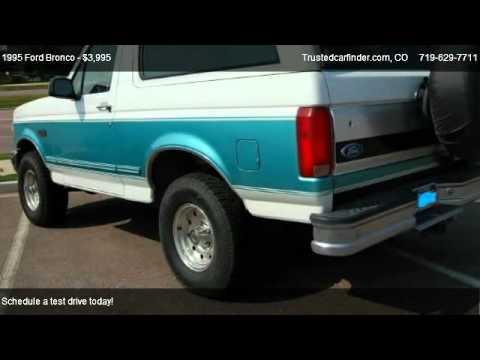 1995 Ford Bronco XL XLT Eddie Bauer for sale in