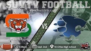 Tri-Cities Labor Day Classic: Stockbridge vs. Lovejoy (SUVtv Football)