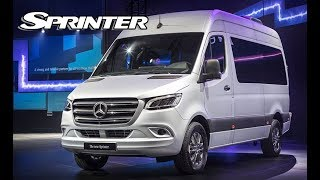 2019 Mercedes Sprinter - The most high tech and advanced van