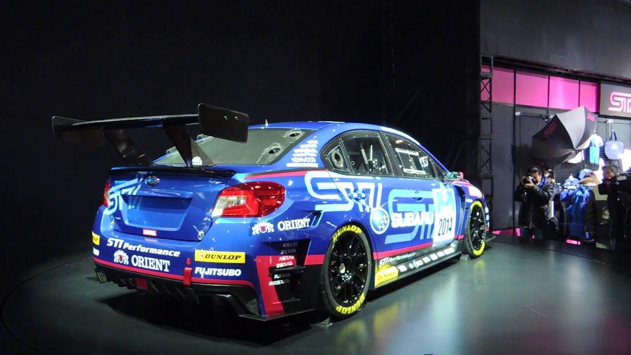Subaru Premium 2014 >> Subaru - STI NBR CHALLENGE 2014 World Premiere - YouTube