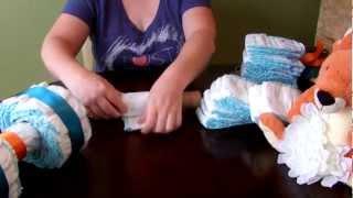 How to make a Diaper Cake - 4 Wheeler / ATV
