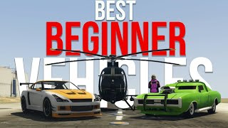TOP 5 MUST OWN Beginner Vehicles in 2020 GTA Online | Best