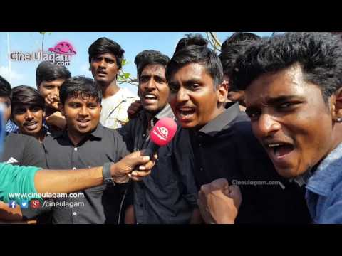 Students Mass Protest Against Jallikattu Ban Day 2 At Marina, Chennai, Law College Students