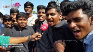 Students Mass Protest Against Jallikattu Ban Day 2 At Marina, Chennai, Law College Students
