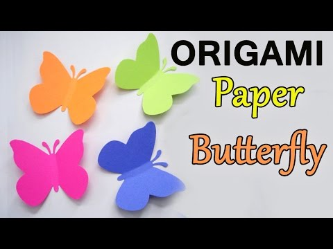 How to make Origami Paper Butterfly | Making Videos