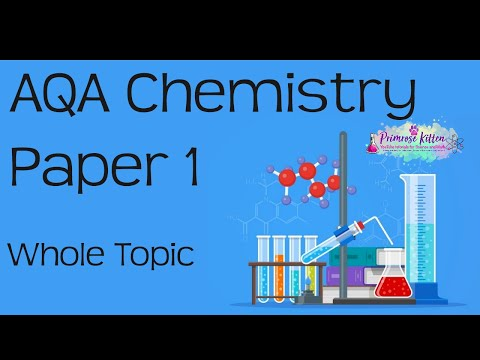 The whole of AQA Chemistry Paper 1 or C1 in only 72 minutes!! GCSE 9-1 Science Revision