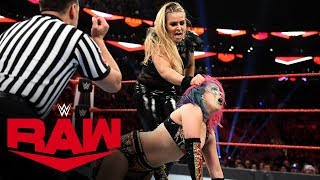 Natalya vs. Asuka: Raw, Nov. 18, 2019