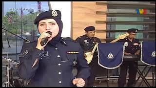 Menahan Rindu by Akak Polis Cantik! Viral