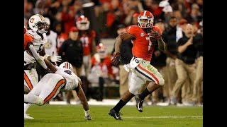 #5 Georgia Highlights Vs. #24 Auburn 2018   CFB Week 11   College Football Highlights 2018
