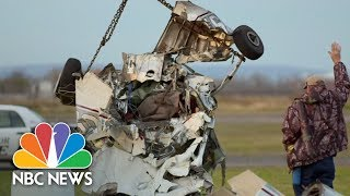 Skydivers Escape As Two Planes Collide   Archives   NBC News