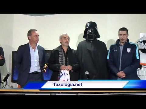 El Pachuca mexicano presentó a su flamante refuerzo: Darth Vader