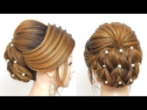 Bridal Updo. Wedding  Hairstyle Tutorial For Long Hair thumbnail