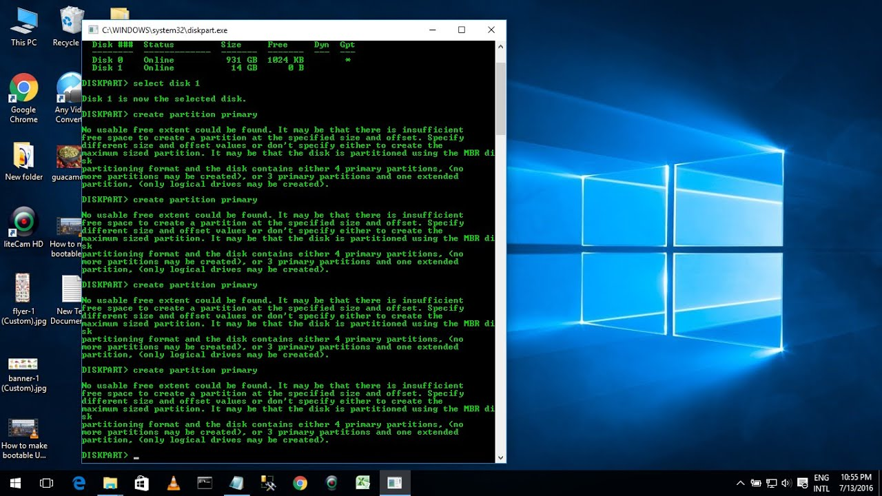 How To Make Usb Flash Drive Bootable Using Command Prompt Easy