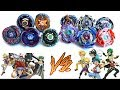 4 SEASONS BLADERS vs GOD BEYBLADE BURST EVOLUTION TEAM BATTLE OF GENERATIONS 4D METAL vs GOD LAYERS