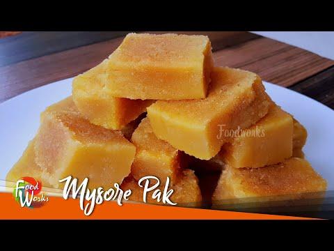 Mysore Pak Recipe | 100% Melting Mysore Pak | Soft Mysore Pak | Indian Sweet | Ghee Mysore Pak