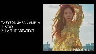 Gambar cover [Japan Album] TAEYEON