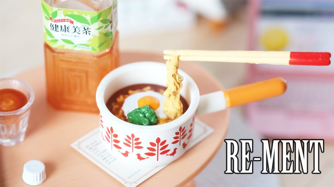 Re-ment Miniature Asian Vintage Grocery set no.4 Rare
